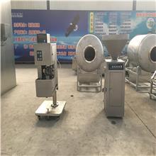 食品扭结灌肠机 小型灌肠机 上海机械械多功能商用电动灌肠机 得利斯集团生产