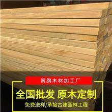 非洲巴蒂木防腐木 非洲黄花梨木 黄檀木板材 巴蒂木地板料 工厂原木定制