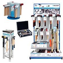 HALDER软面锤 中等TPE锤面 德国制造 多种材质手柄夹头安装锤