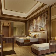 新中式实木沙发 现代绒布弧形酒店家具 简约接待创意小沙发套装