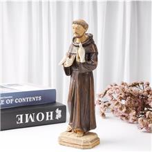 来图定制宗教圣父摆饰 宗教家居摆件 树脂手绘工艺品