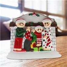 圣诞屋摆饰 圣诞系列雪屋树脂摆件 树脂工艺品圣诞屋摆饰创意家具礼品定制
