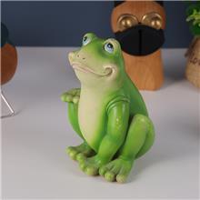 树脂青蛙动物摆件 花园动物树脂工艺品 动物摆件定制