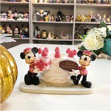迪士尼蛋糕摆饰 迪士尼树脂工艺品 卡通人物树脂工艺品定制
