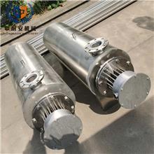 工业热风电加热器  40KW熔喷布空气加热 管道式辅助氮气体加热器 即热式流动气体加热