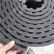 隔热橡塑板 厂家批发 耐高温带背胶橡塑板 高密度空调保温橡塑管