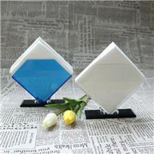 厂家直销透明亚克力纸巾架-酒店餐厅创意防摔餐巾纸座-有机玻璃纸巾盒