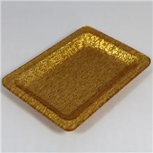 酒店亚克力毛巾托盘-长方形置物托盘多功能塑料碟子收纳-上海亚克力加工