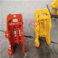 萍乡卡特挖斗快速转换器   小松360挖斗快速连接器厂家定做  挖掘机挖斗出售