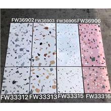 北欧厨房卫生间内墙砖瓷砖_300*600水磨石不透水瓷砖