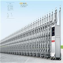 南雄电动伸缩门 不锈钢自动遥控电动门 广东厂家