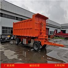 煤炭运输全挂车 自卸全挂车出口蒙古