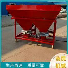 铁桶双盘加厚防腐蚀撒播器 德州厂家供应 农用拖拉机后置式撒肥机厂家