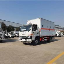 安庆国六江淮4米2易燃气体氮气氩气危险品厢式运输车图片