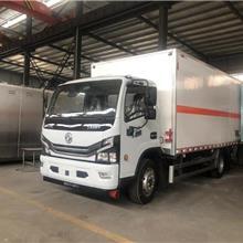 东风4米2易燃液体酒精乙醇厢式运输车厂家报价 易燃气体甲醇丙烷运输车