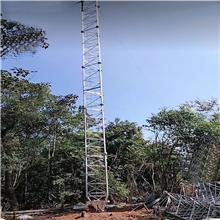 20米避雷线塔建筑线塔防雷塔 监控避雷塔 钢结构测风塔 河北定制生产