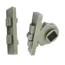 厂家加工定做 粉末冶金不锈钢滑块 液相烧结智能锁配件 锁零件批发