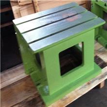 铸铁方箱工作台 3050摇臂钻等高垫箱 T型槽 试车加高基础方筒春天机床支持定制