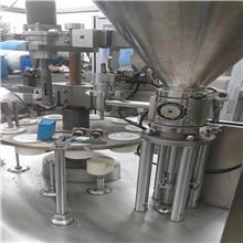 二手经济性灌装封尾机 二手洗面奶BB霜灌装机 灌装机常年报价