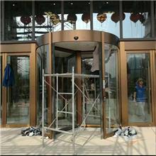 玻璃门厂家 黑钛金玻璃门 广西玻璃门厂家 聚宏金属