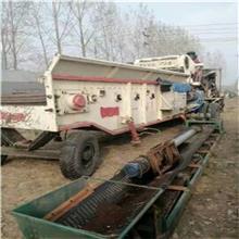二手柴油发动机木材破碎机        各种木材破碎机