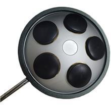 厂家直销物镜转换器 显微镜转盘 M26螺纹转换盘 M26 5孔物镜转盘