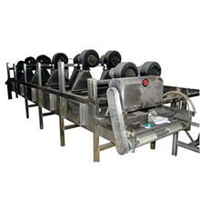 重庆酱菜包装沥水机 除去表面残留水珠设备  卤蛋外包装去水风干设备 金星厂家