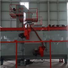 悬挂链通过式抛丸机 除锈清理机 悬链通过式喷砂机 按时发货