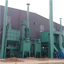 厂家供应 水玻璃砂再生成套设备生产线 砂处理系统 粘土砂铸造设备