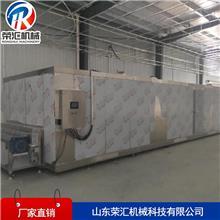 商用隧道式全自动速冻流水线 不锈钢海鲜速冻机 水饺速冻设备 荣汇生产