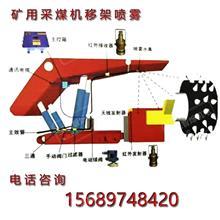 采煤机定位降尘主机综采工作面定位洒水降尘装置