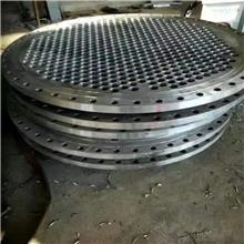 奥鲲生产 不锈钢法兰管板 非标焊接加厚法兰盘 法兰管板