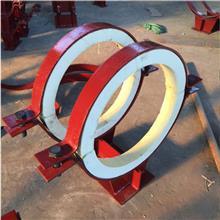 单管夹蛭石隔热管托 聚氨酯保冷管托 蒸汽管道支架 长输热网隔热管托