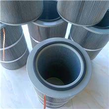 迈优环保 除尘防静电滤筒 六耳快拆式滤筒滤芯 精密易清粉防静电粉末回收滤芯