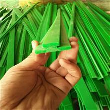 大量生产供应超高分子聚乙烯链条导轨 T型双排各型号尺寸耐磨塑料链条导轨