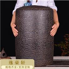 新款大号紫砂茶叶罐宜兴原矿大码茶叶缸手工普洱醒茶密封储存茶罐