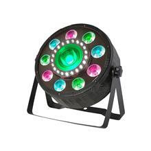 艾肯舞台灯光照明 9颗4色+单颗COB+24颗冷白 花蕊型面光灯 室内LED帕灯