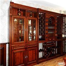 一体式酒柜 全屋家装酒柜设计 板式家具酒柜