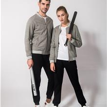 「盛容出售」男装棒球服_秋季新款白色棒球服_长款棒球服_多色可选
