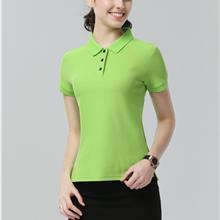 polo衫女短袖夏季大码运动上衣_polo衫厂服订做