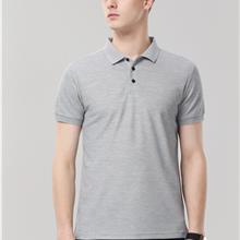 纯色男士polo衫厂服订做_2021年新款翻领速干衣男
