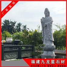 卖石雕观音像的厂家_观音雕像价格