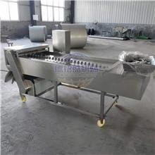 供应切割冻鱼段设备 鱼罐头食品厂用冻带鱼切段机 长度八公分冻刀鱼切段机 长度均匀一致