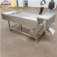 供应鱼罐头食品加工设备 304不锈钢带鱼切段机 德铭盛制造冷冻带鱼分段机