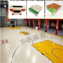 篮球木地板 篮球场馆 学校体育场馆 工厂直销 运动实木地板 羽毛球馆 舞蹈教室 包施工