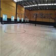 篮球地板 综合场馆 体育馆 运动木地板 健身房 瑜伽馆地板 舞台 实木地板