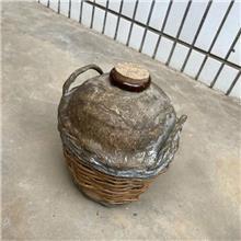 纯粮酒窖藏酒篓 裱糊条编酒篓 条编血料酒篓 市场价格