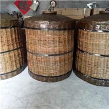 手工条编酒篓 纯粮酒窖藏酒篓 3斤仿古酒篓 厂家出售