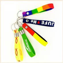 东莞出售_硅胶钥匙扣_填色硅胶手环钥匙圈_订做卡通动漫钥匙扣