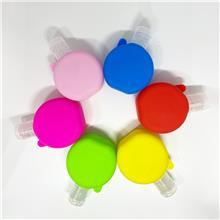 定制硅胶香水洗手液瓶套卡通洗手液硅胶套香水套硅胶保护套